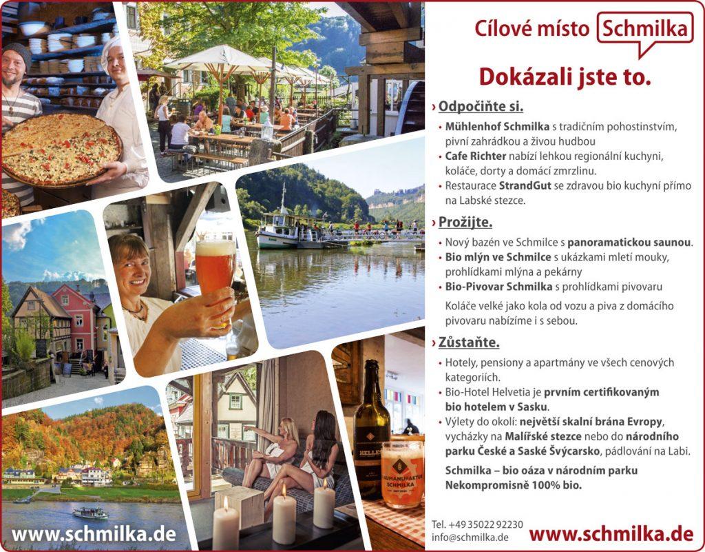 Anzeige Schmilka in tschechischer Sprache