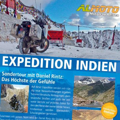 Plakat zur Sonderreise mit Daniel Rintz