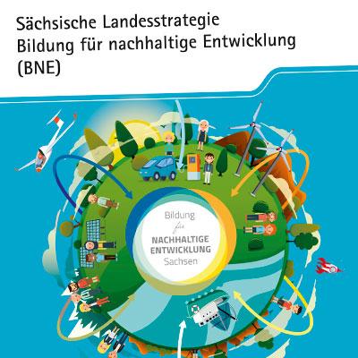 Prospekt zur sächsischen Landesstrategie der nachhaltigen Bildung