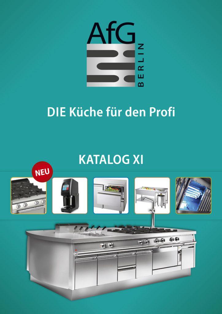 Katalog 2019 für Großküchen von AfG Berlin