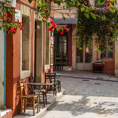 Das Weindorf Archanes bei Knossos, Kreta