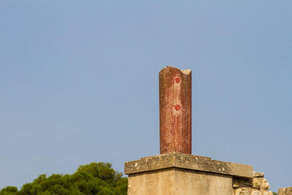 Das typische Rot von Knossos, Kreta