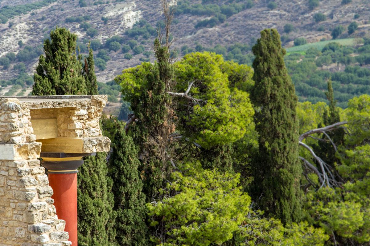 Knossos bei Heraklion, Kreta
