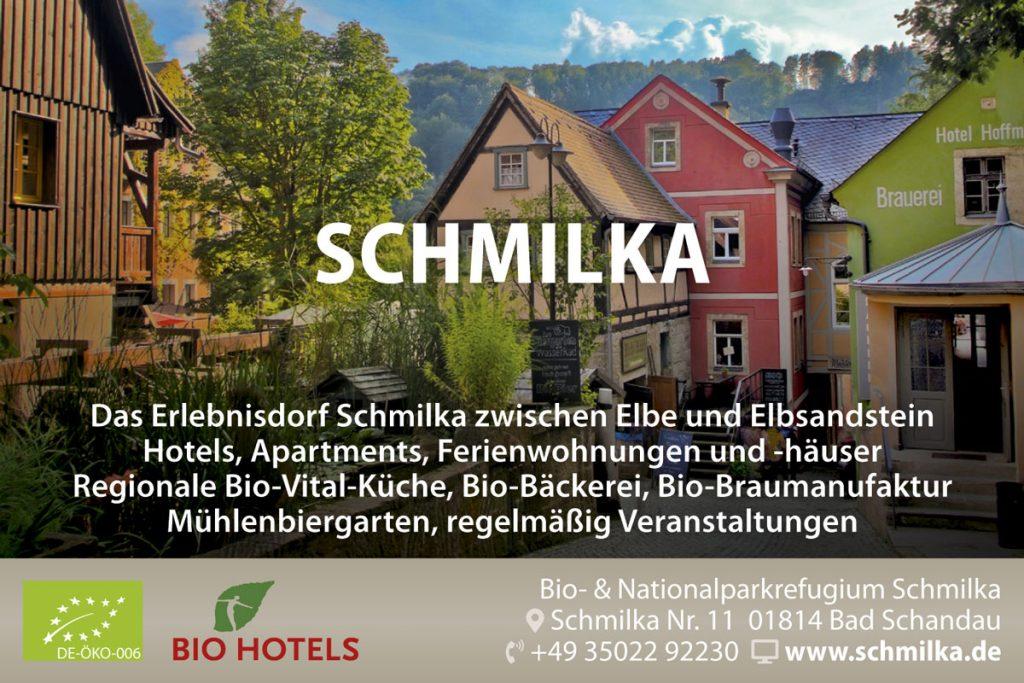 Anzeige Schmilka für Broschüre Sandstein & Musik