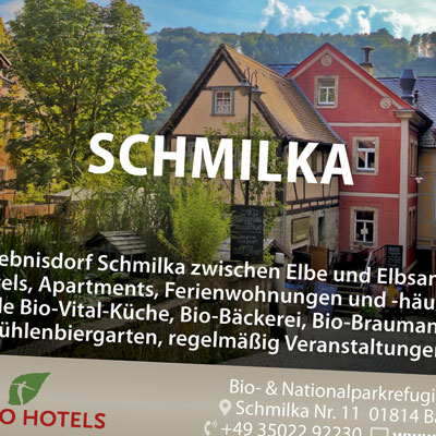 Schmilka präsentiert sich auf Festival