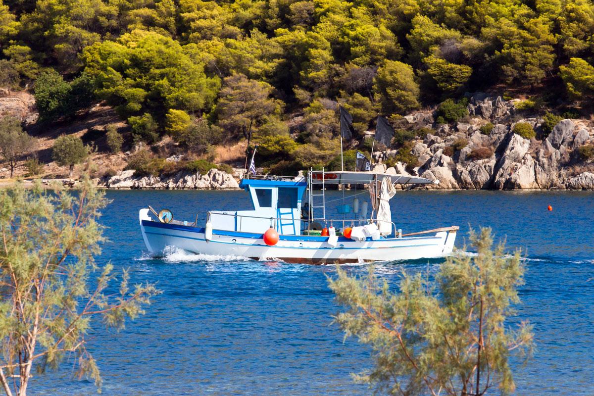 Epidavros auf Peloponnes. Griechenland
