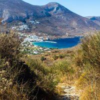 Wanderweg nach Aegiali, Amorgos, Griechenland