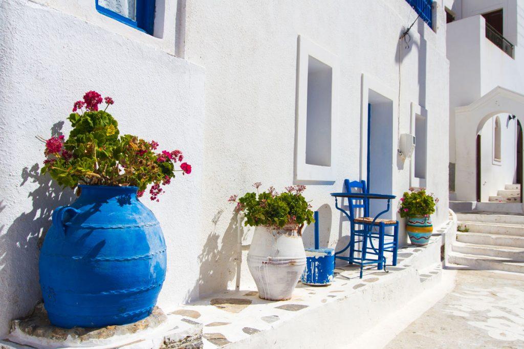 Idylle auf Amorgos, Griechenland