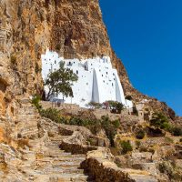 Kloster Moni Chozoviotissa auf Amorgos, Griechenland