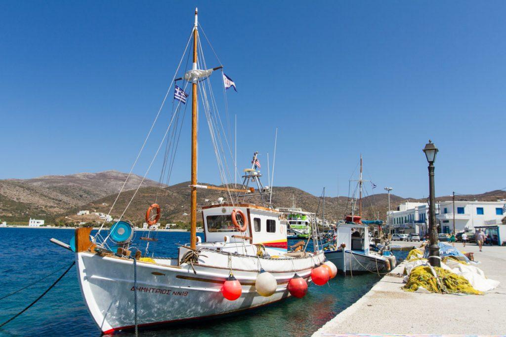 Katapola auf Amorgos, Griechenland