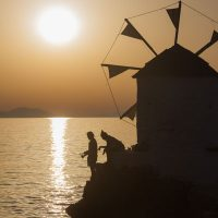 Windmühle in Aegiali, Armorgos