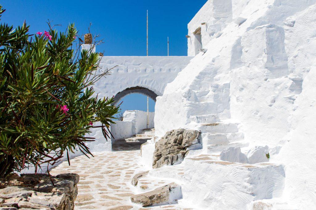 Kloster Stavros auf Amorgos, Griechenland