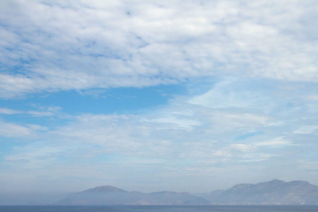 Fährfahrt nach Kalymnos, Griechenland