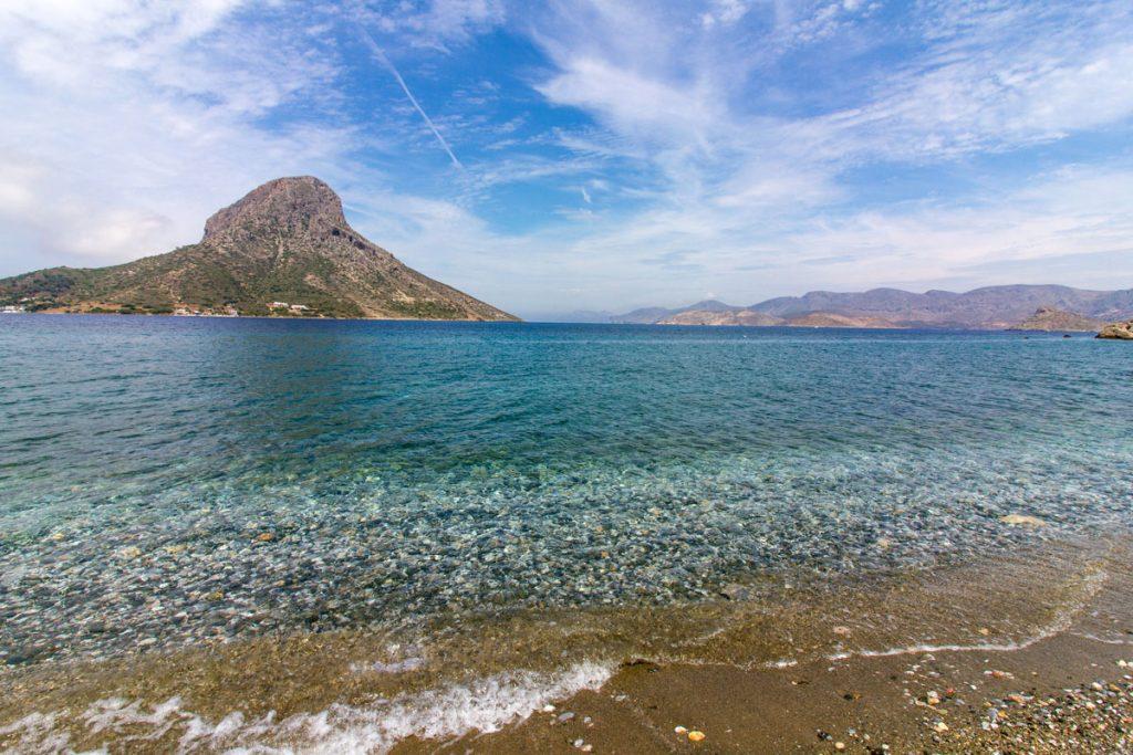 Bucht von Masouri vor Kalymnos, Griechenland