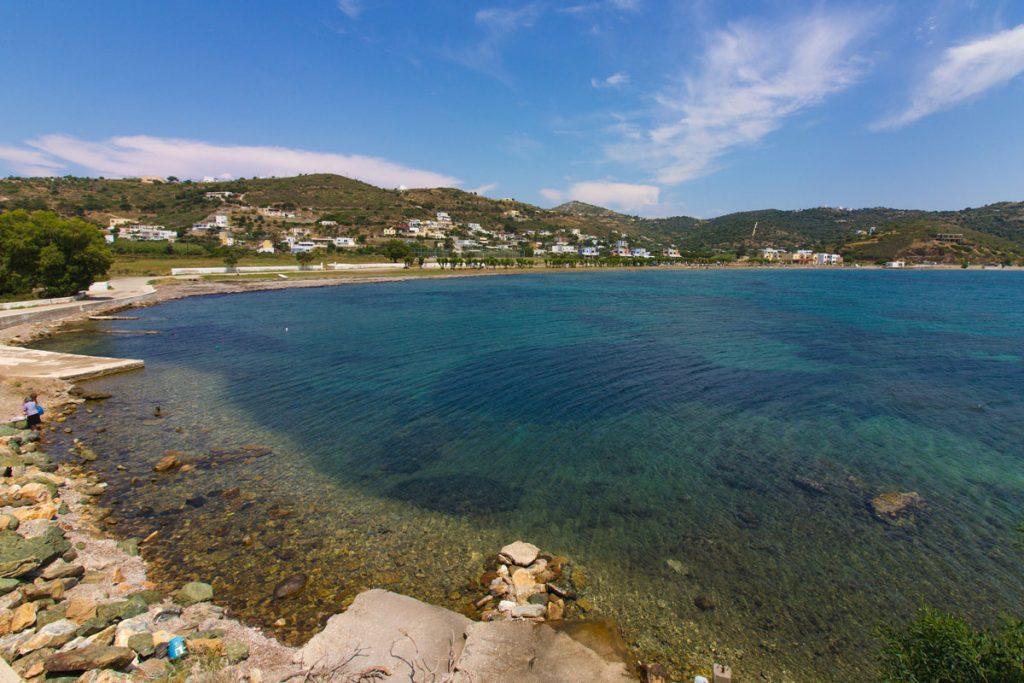 Die Bucht von Gourna, Leros