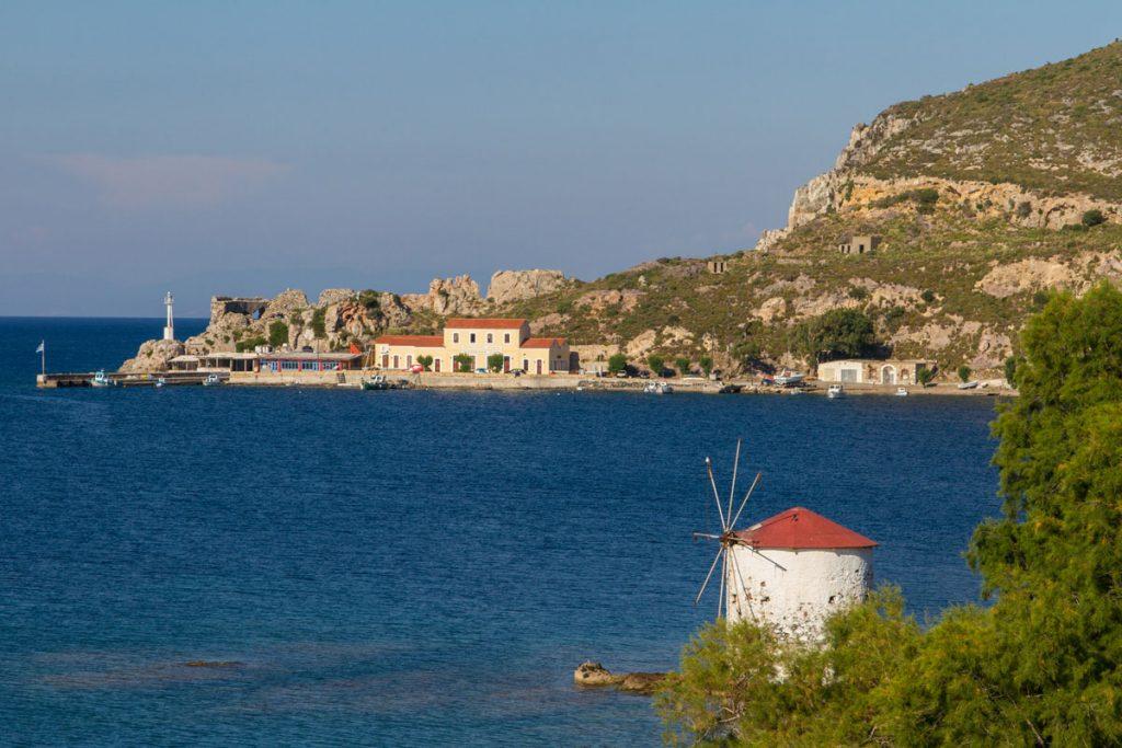 Der Hafen von Aghia Marina, Leros