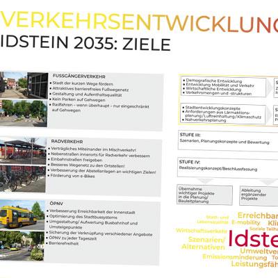 Infoplakat zum Verkehrsentwicklung-Workshop in Idstein