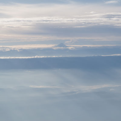 Flug von Guayaquil nach Quito - Tungurahua (5023m)