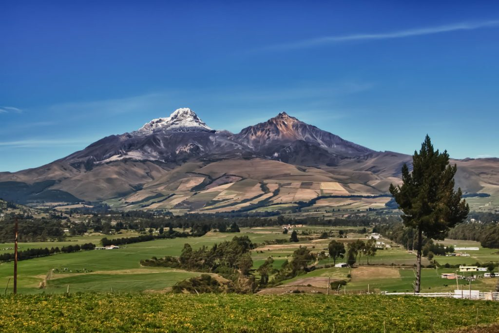 Illiniza Norte (5126m) und Iliniza Sur (5248m)