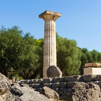 Heratempel von Olympia, Griechenland