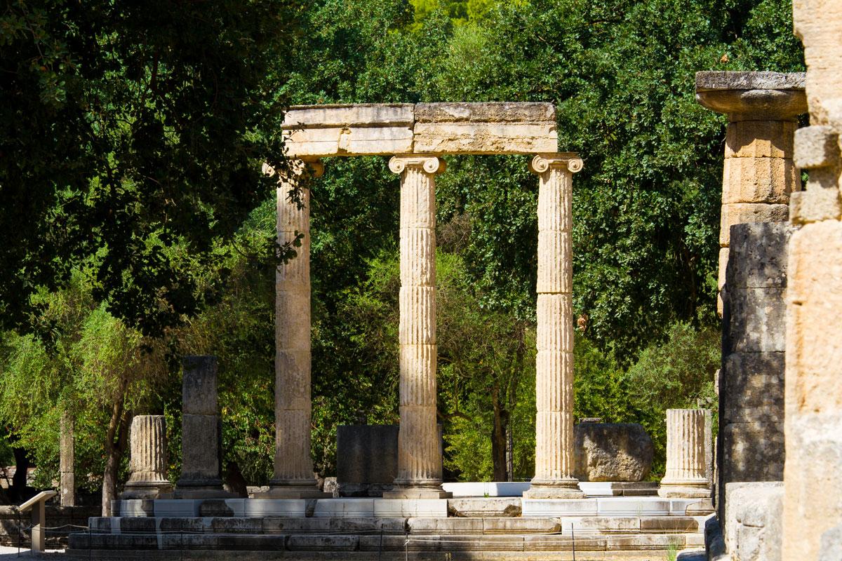 Philippeion von Olympia, Griechenland