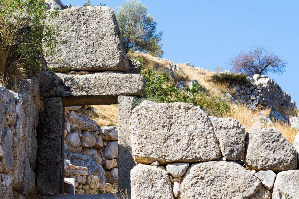 Antikes Mykene (Nordtor), Griechenland