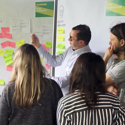 Design Thinking mit Touristikern