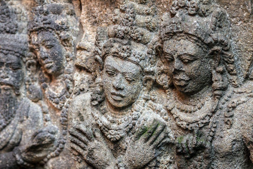 Tempelanlage Prambanan auf Java