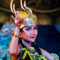 Das Ramayana Ballet erzählt die Geschichte Shintas in einem Amphitheater in Yogyakarta, Java