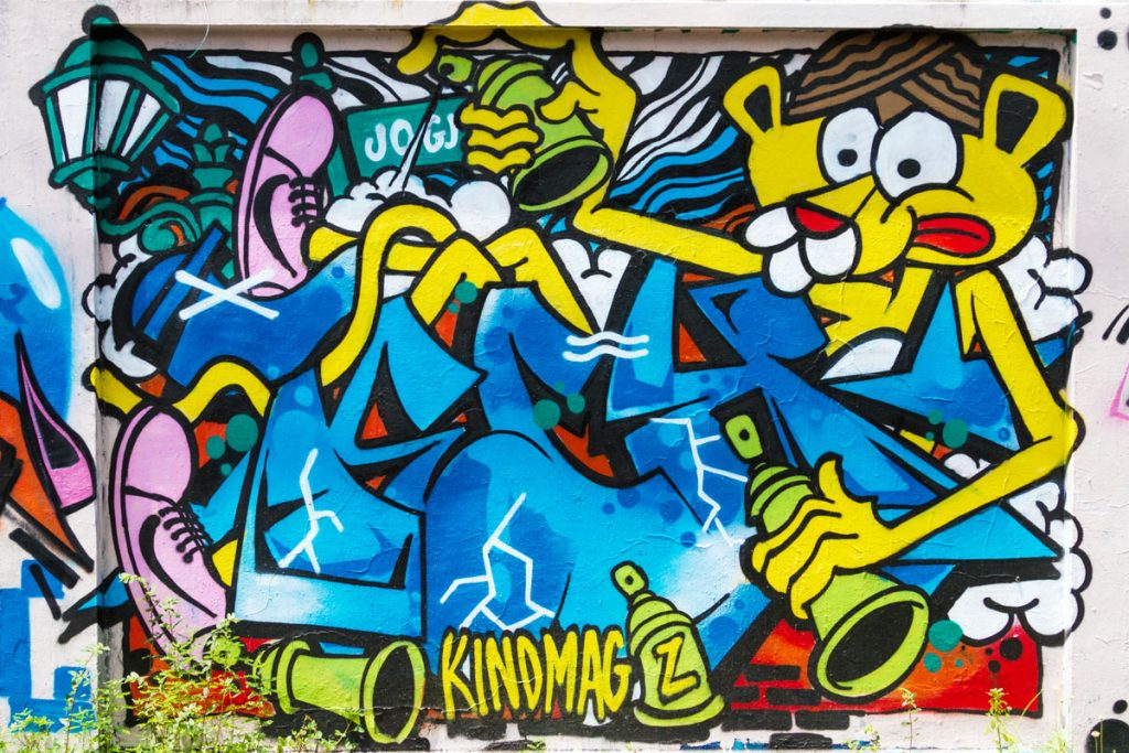 Graffiti in Yogyakarta, Java