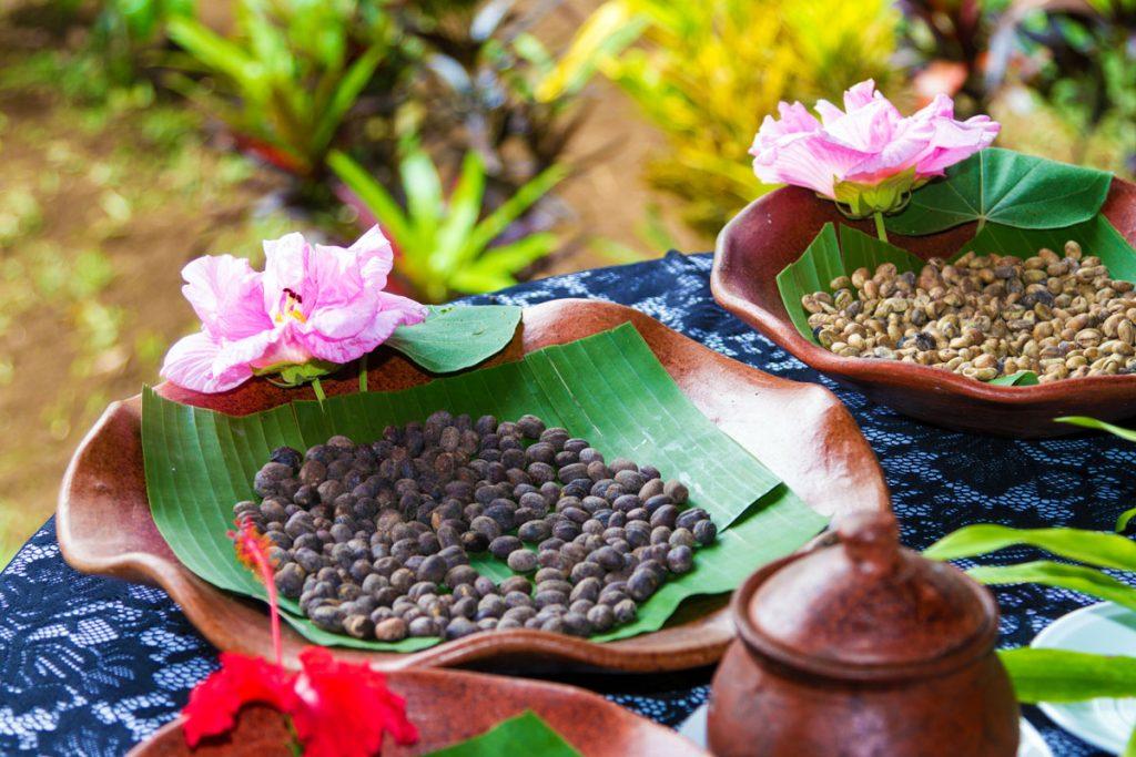 Kaffee im Ökoresort Bagus Agro Pelaga auf Bali