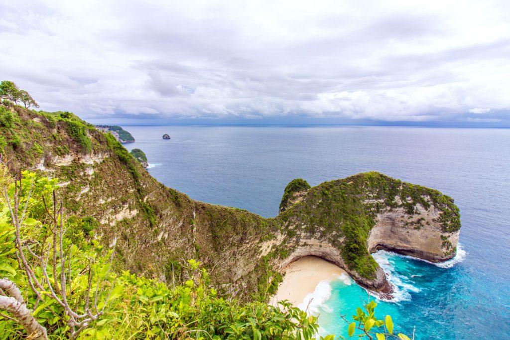 Kelingking Beach auf Nusa Penida als HDR