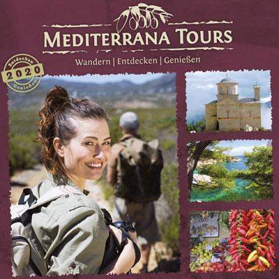 Katalog des Reiseveranstalters Mediterrana Tours 2020