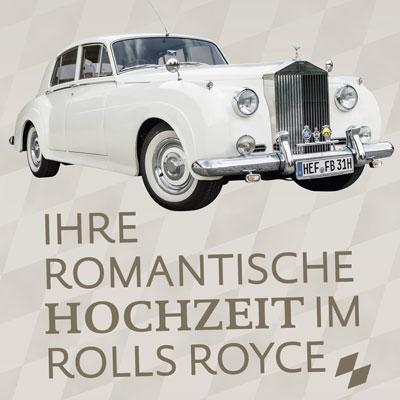 Messeauftritt zum Miet-Rolls-Royce
