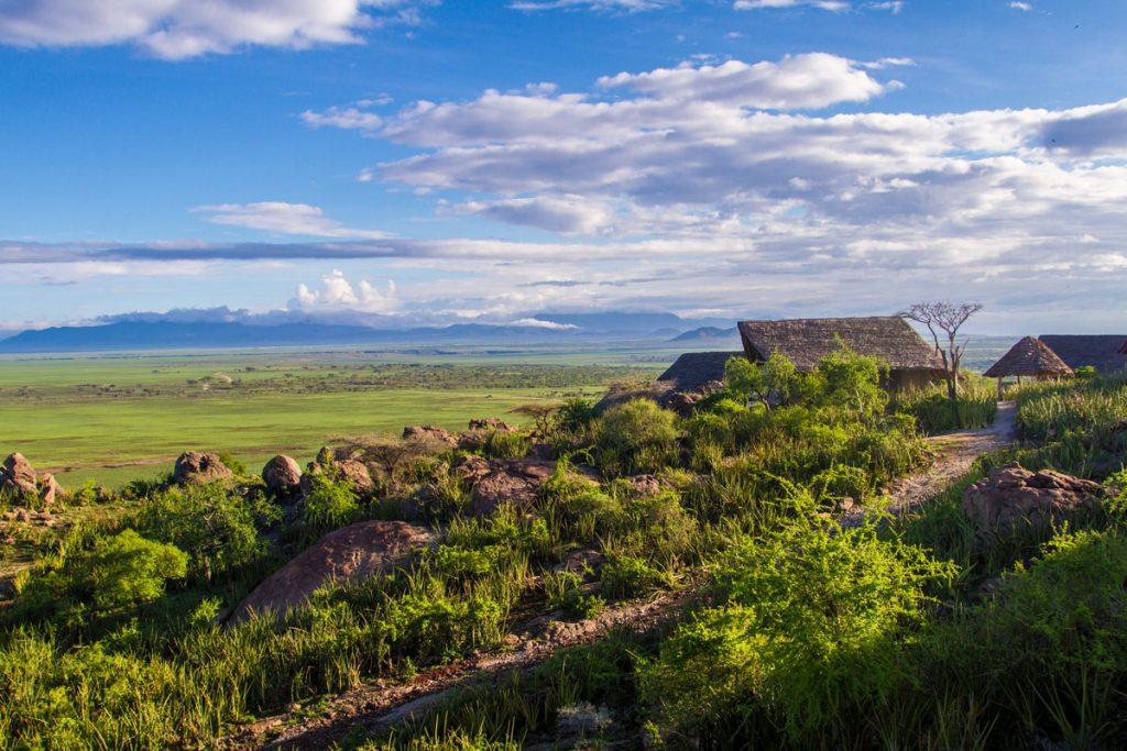 Das Camp Olduvai Ndogo direkt beim Olduvai Camp im Ngorongoro-Schutzgebiet, Tansania
