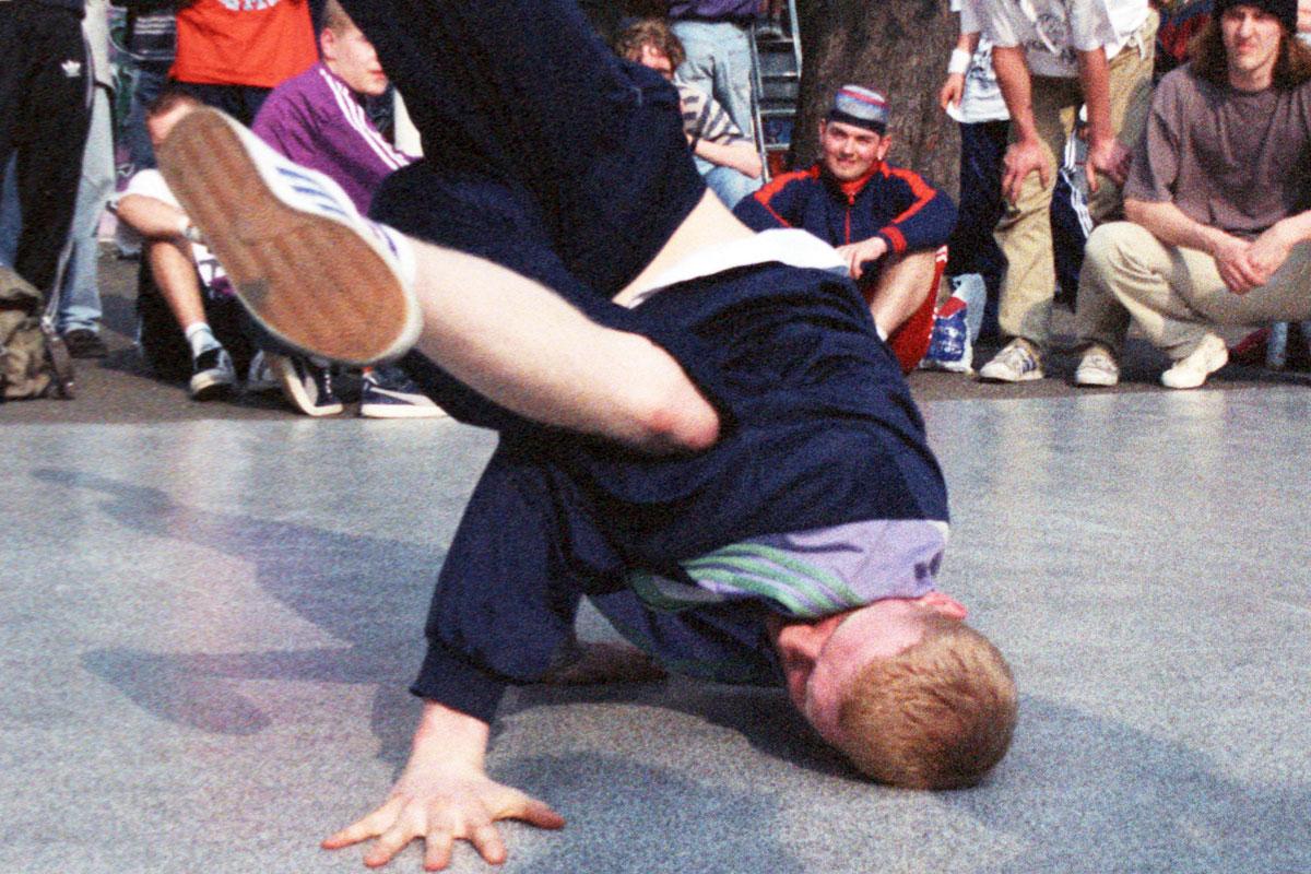 Breakdance zur Opening Jam im Kraftwerk Chemnitz