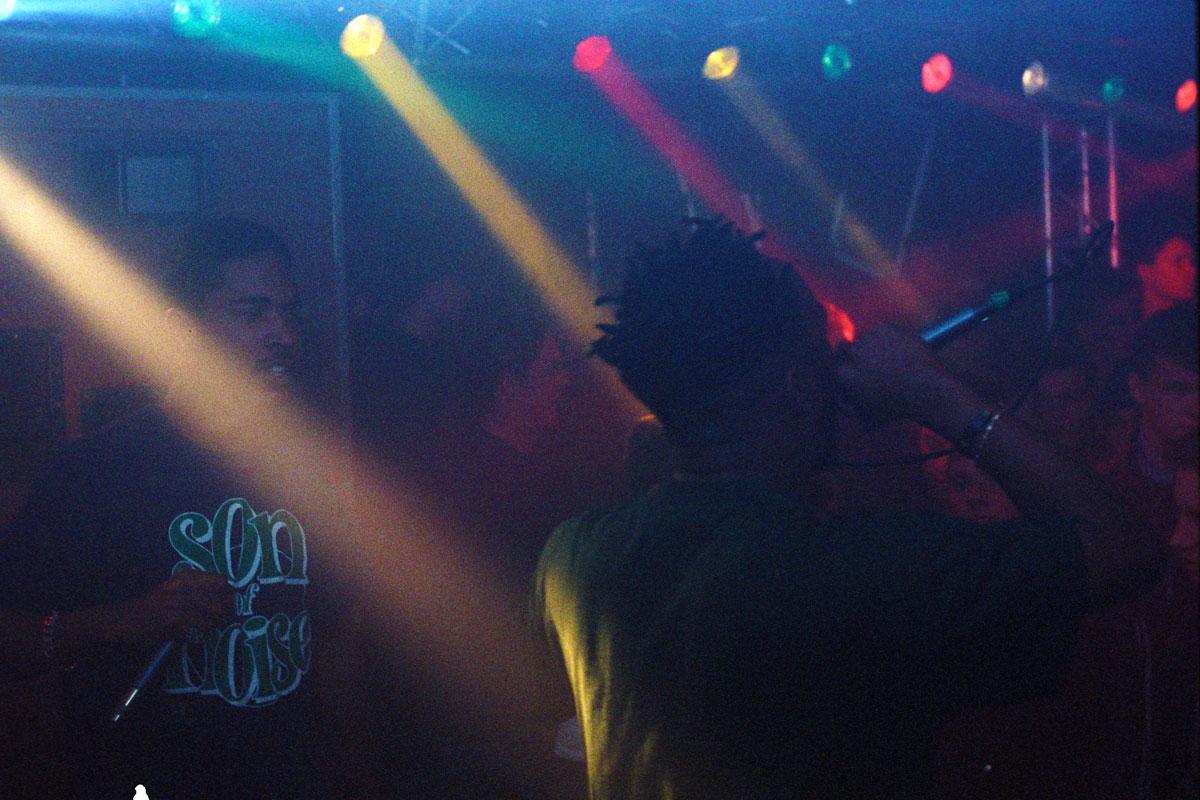 Hip Hop Konzert mit Son of Noise und Blade im Sky West in Pirna