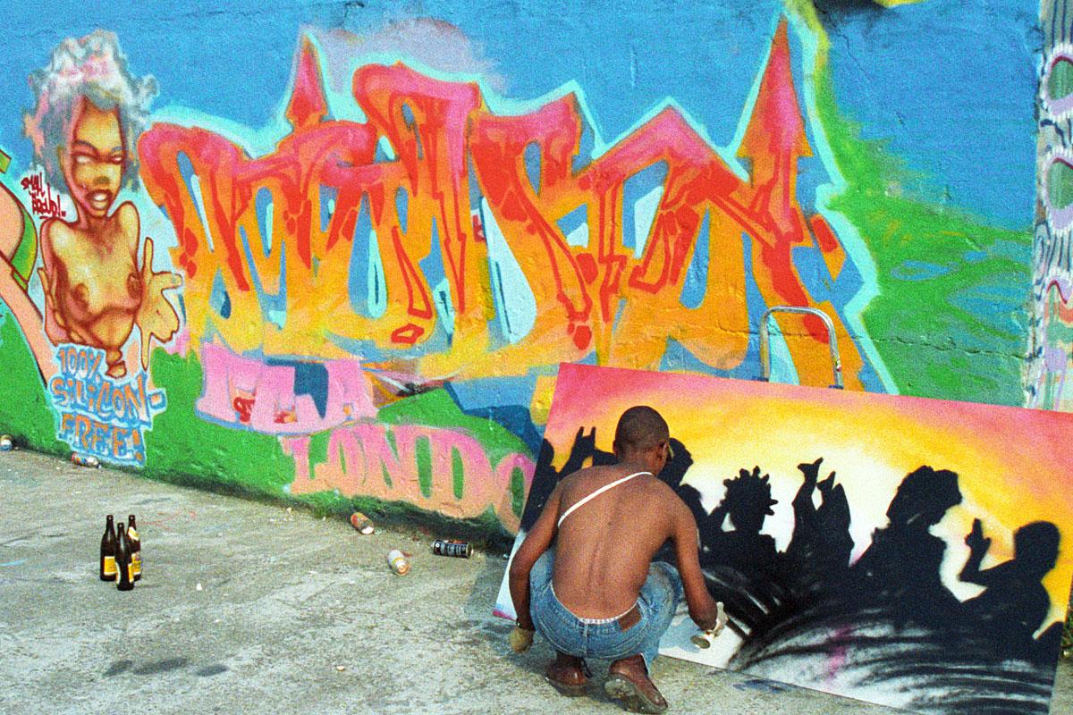Graffiti von Mode 2