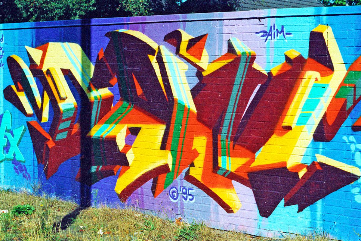 Graffiti von DAIM