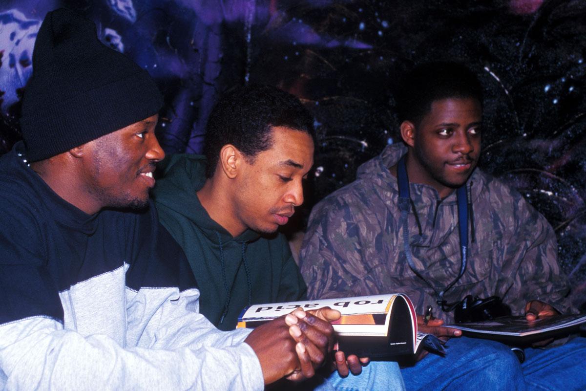 Das Hip Hop Magazin BOOMY in den Händen von Rapper Prince Paul