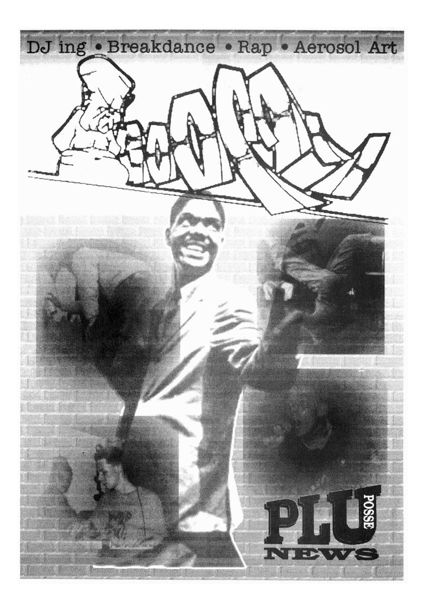 Das Cover der ersten Ausgabe des Hip Hop Magazins BOOMY