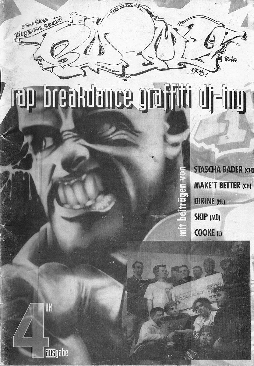 Cover der vierten Ausgabe des Hip Hop Magazins BOOMY
