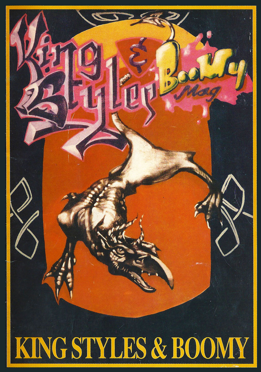 Cover der gemeinsamen Ausgabe von BOOMY und King Styles