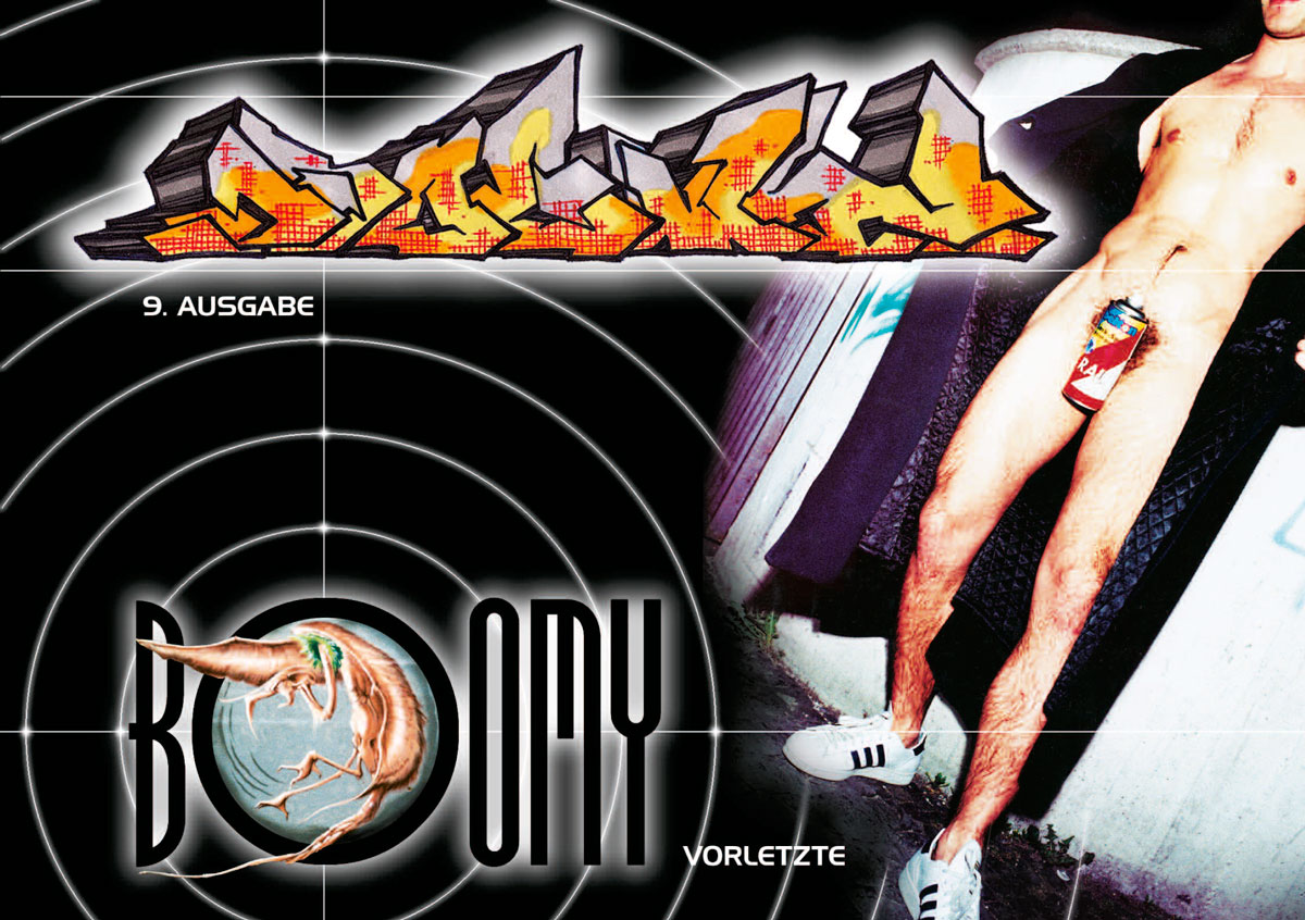 Cover der neunten Ausgabe des Hip Hop Magazins BOOMY aus Dresden