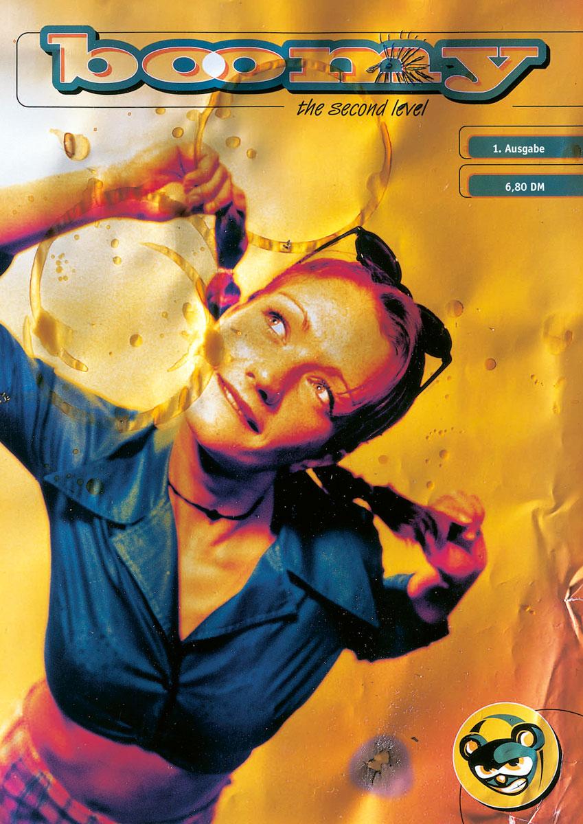 Cover des Hip Hop Magazins BOOMY im DIN A4