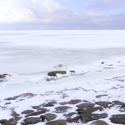 Eiswinter auf dem Greifswalder Bodden
