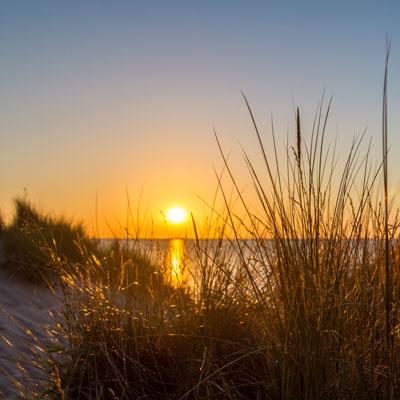 Der Strand von Lubmin im HDR