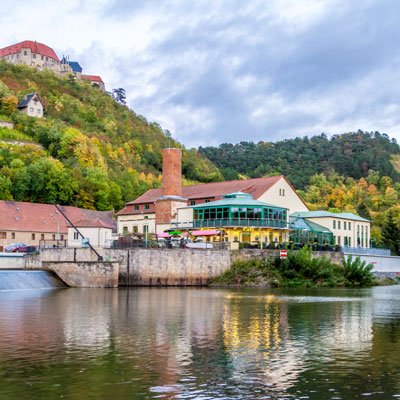 Die Weinstadt Freyburg an der Unstrut