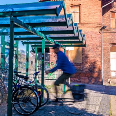 Fotos in Rietschen zum Radverkehrskonzept Oberlausitz