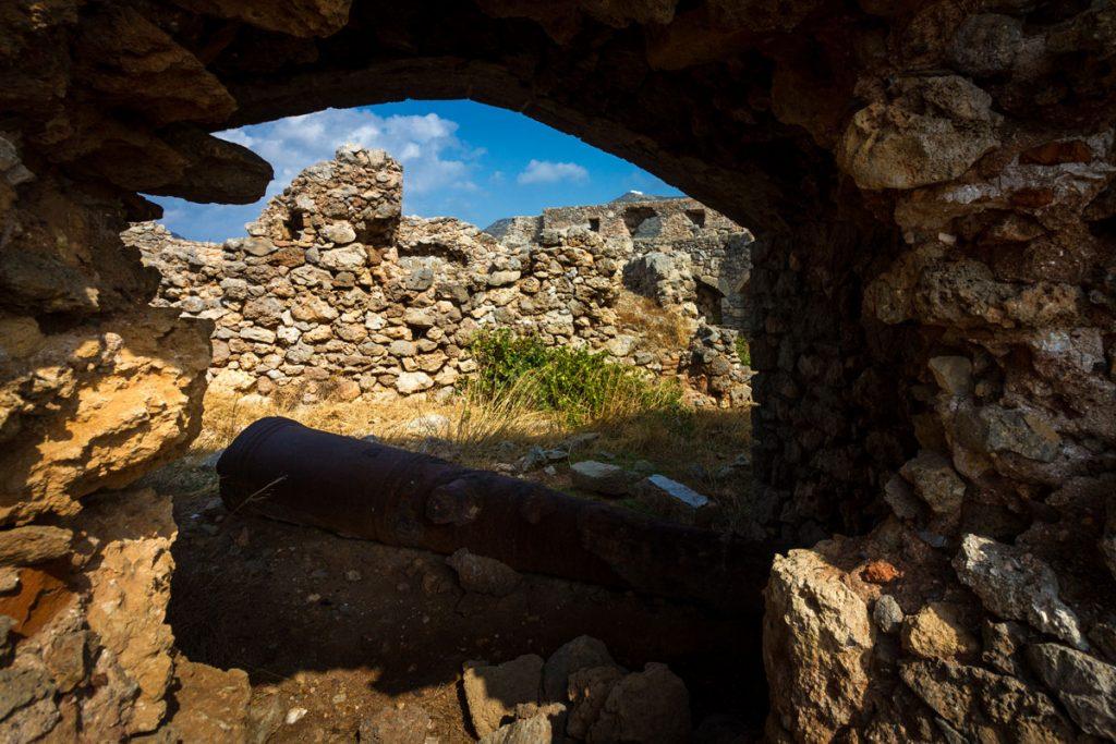 Das Castello von Avlemonas, Kythira